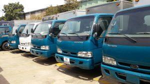 Dịch vụ cho thuê xe tải chở hàng từ 0.5 đến 5 tấn giá 345k/10km