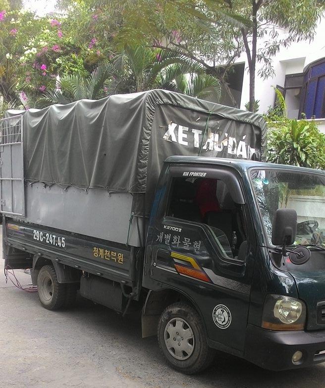 Kinh nghiệm thuê xe tải chở hàng tại Hà Nội