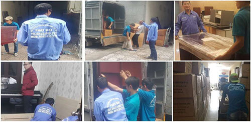 Hình ảnh vận chuyển đồ đạc khi chuyển nhà của Phát Đạt