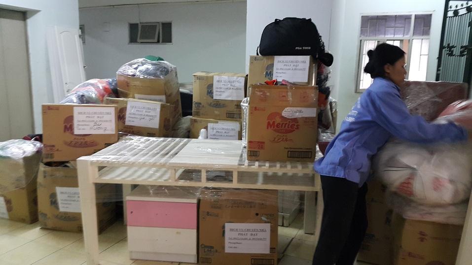 phân loại đồ khi đóng gói