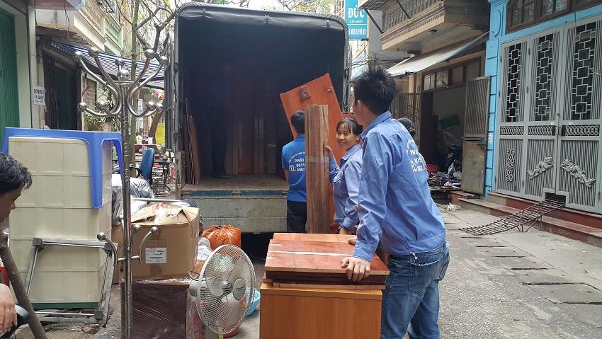 Nhu cầu sử dụng dịch vụ xe tải chuyển nhà hiện nay