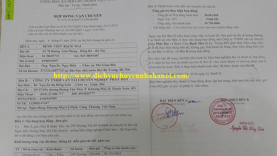 Đánh giá dịch vụ chuyển văn phòng giá rẻ tại Phát Đạt