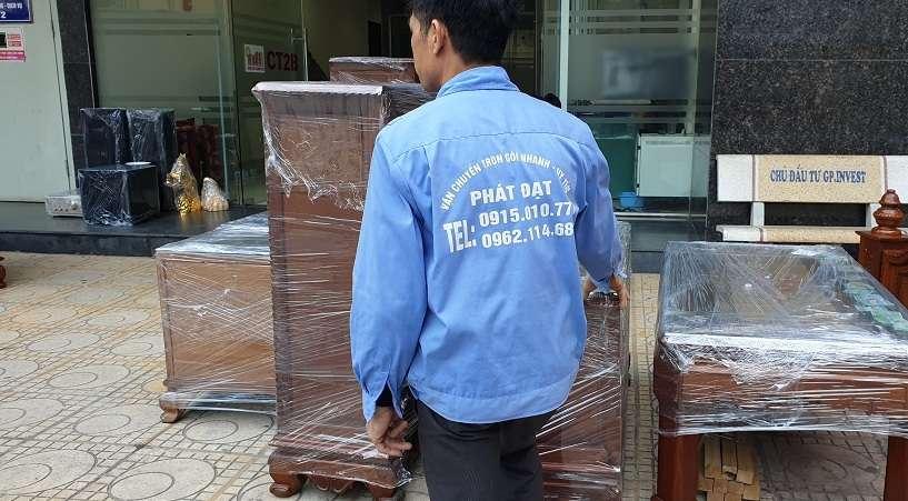 Hình ảnh chuyển nhà trọn gói tháng 4/2019 tại Hà Nội