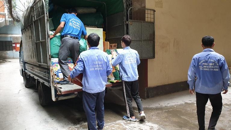 vận tải hàng hóa bằng đường bộ