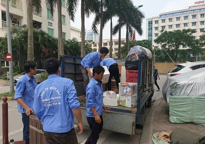 Review dịch vụ chuyển nhà trọn gói giá rẻ nhất Hà Nội