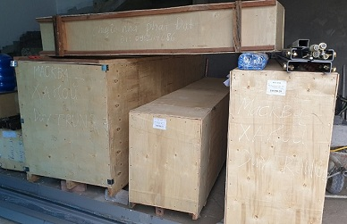 Dịch vụ bốc dỡ hàng xe Container giá rẻ, tận tâm tại Hà Nội